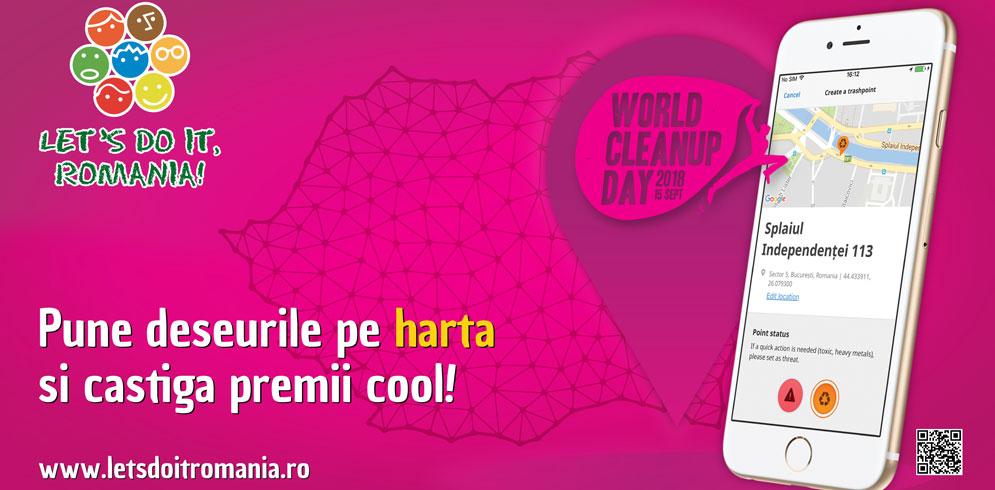 Let`s Do It, Romania! premiază cei mai implicați voluntari pentru realizarea Hărții Deșeurilor