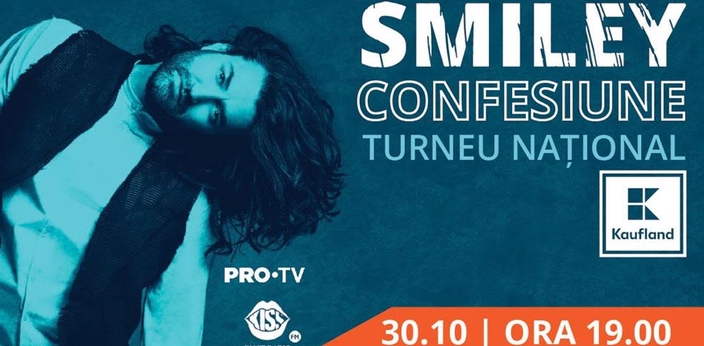 "Smiley-Turneul National ""Confesiune"" ajunge si la Iasi"