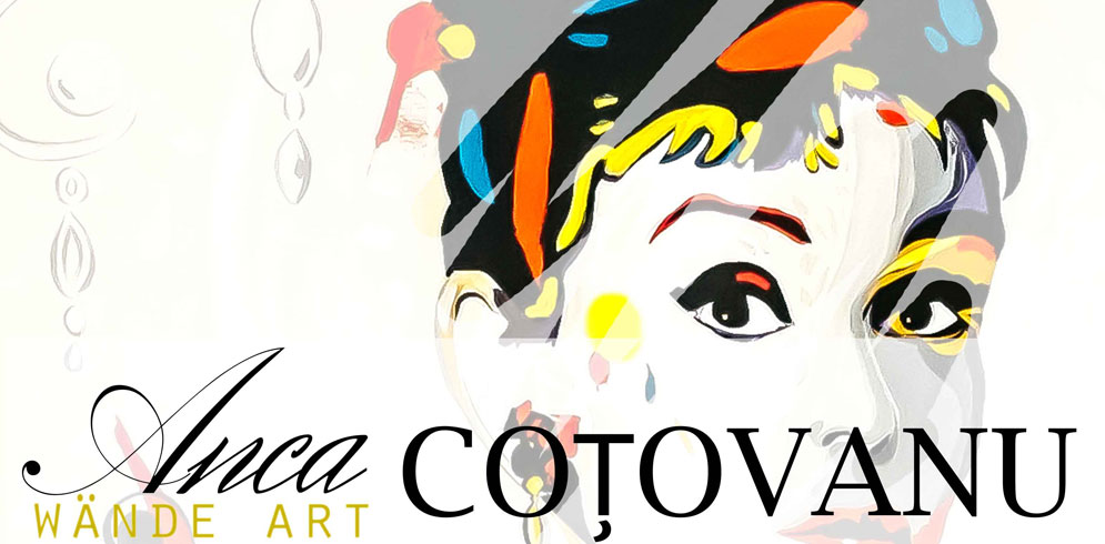 MEDIA – POP, expozitie de pictura semnata Anca Cotovanu