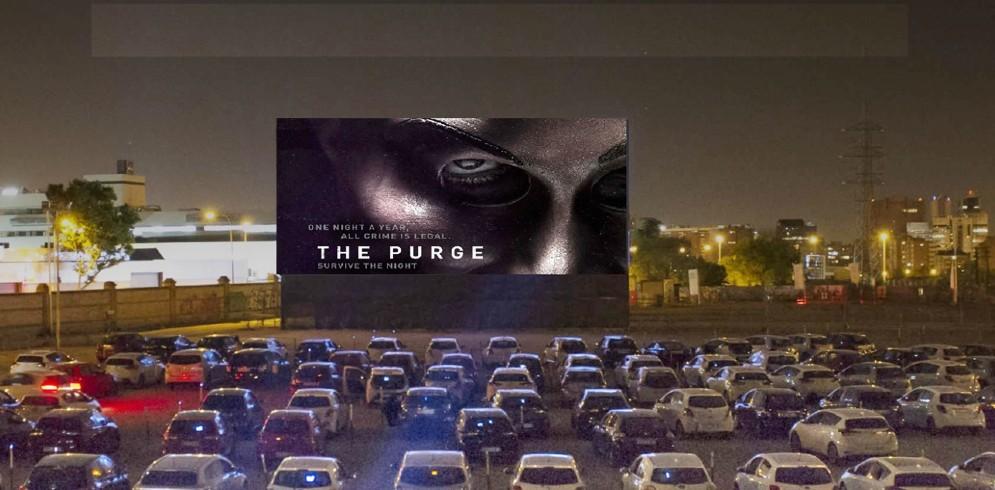 Drive-in cinema la Iași | The Purge. Noaptea judecății