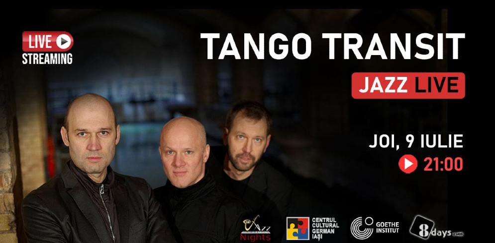 Jazz cu Tango Transit din Germania | LIVE STREAMING