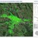 Deplasarea terenului din Iasi din ultimii cinci ani, observata din satelit