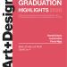 Expoziția Graduation Highlights 2020 – selecție din lucrările absolvenților UNAGE