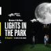 Lights in the Park – Luna și Planeta Marte, suspendate în parcurile IULIUS