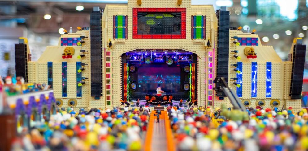 Expoziție inedită de construcții LEGO, la Iulius Mall Iași