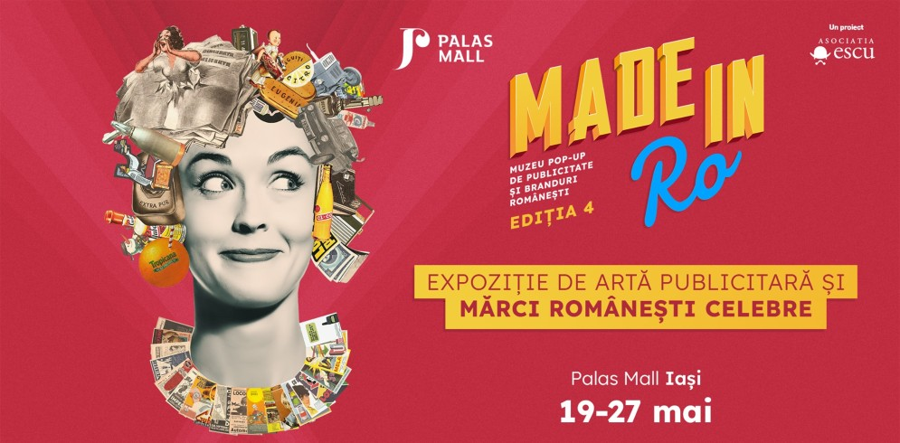 Made in RO: muzeu pop-up de publicitate și branduri românești vine în premieră la Iași