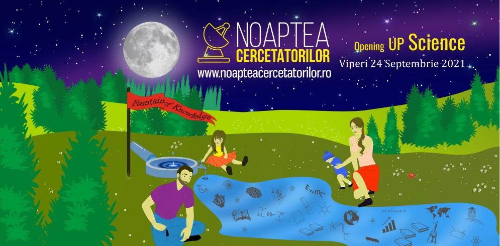 Noaptea Cercetătorilor Iași 2021
